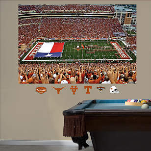 Darrell K Royal - Texas Memorial Stadium Flag Mural